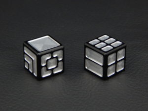 Custom Dice - black color anodized aluminium dice XLP v2.0