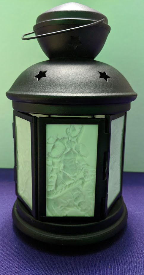 Custom Crafted Lithophane Lantern