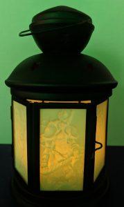 Illuminated Custom Crafted Lithophane Lantern